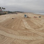 Pismo Beach City Crews keep the beach super clean!