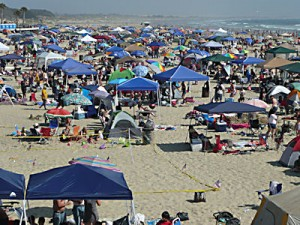 Pismo Beach on the 4th of July