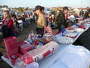 4th of July on the Pier in Pismo Beach