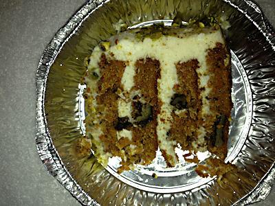 Giuseppes Express Carrot Cake